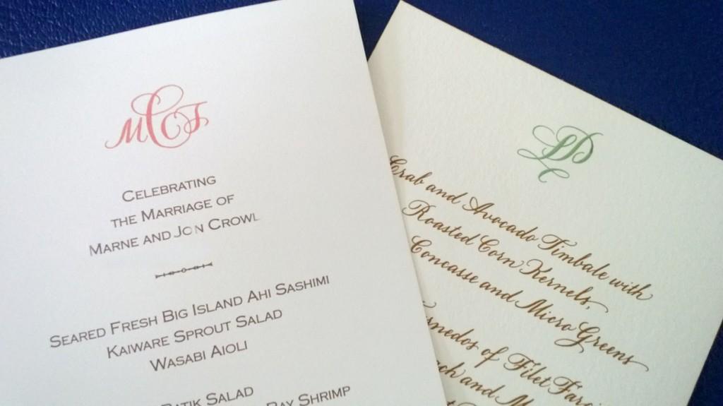 2 menus